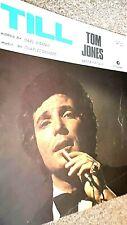 TOM JONES: TILL (SHEET MUSIC)