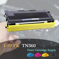 1-20PK TN360 Toner For Brother DCP-7030 7040 HL2140 2150 2170W MFC-7320 7340 lot