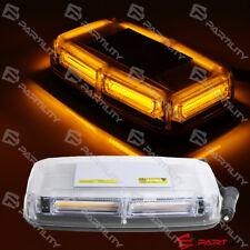 6-COB Amber Light Mini Bar Roof Top Emergency Warn Flash Strobe Construct Light