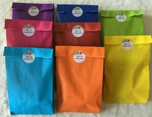 FILLED CHILDREN'S BIRTHDAY PARTY BAGS PARCELS KIDS AGE 3+ UNISEX VEGETARIAN KIDS