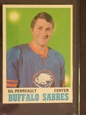 1970-71 Topps #131 GIL PERREAULT ROOKIE~ NRMT/MINT -  SHARP CORNERS - AWESOME!
