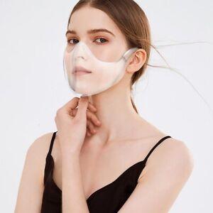 Durable Mask Visor Protection Transparent Clear Plastic Mask PPE Reusable AU
