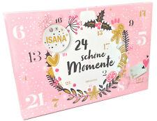 Isana Adventskalender 24 schöne Momente Kosmetik Beauty+Pflege
