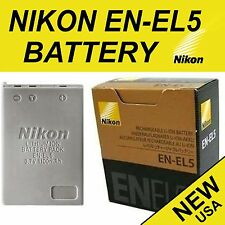 NEW Genuine Original Battery EN-EL5 for Nikon Coolpix P80, P90, P100, P500, P510