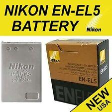NEW Genuine Original Battery EN-EL5 for Nikon Coolpix P80, P90, P100, P500, P510