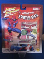 2002 Johnny Lightning Spider-Man Van NIB PMD Exclusive NIP