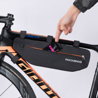 RockBros Waterproof Bike Bag Triangle Large Cycling Bicycle Tube Frame Bag