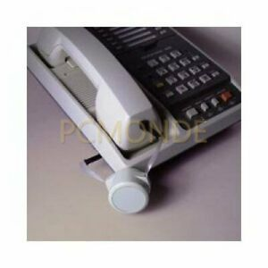 Preco Cord-minder Retractable Two-way Pull Phone Cord, 8-ft Dove Gray (R81-8)