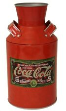 Coke Coca Cola Replica Milk Can Tin!