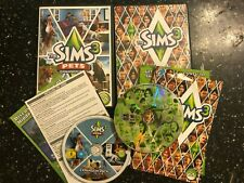 PC MAC DVD-ROM THE SIMS 3 BASE GAME + THE SIMS 3 PETS EXPANSION PACK