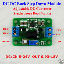 DC-DC Buck Converter Step Down Module 3.3V 5V 6V 9V 12V 2.5A Power Supply LM2596