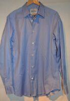 Vivienne Westwood Man Smart Designer Tailored Fit Blue Long Sleeve Shirt IT 50