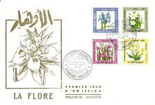 1987- Tunisia- Tunisie- Flora- Flowers - Fleurs- FDC