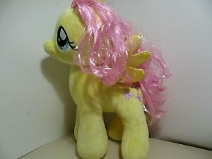 """16"""" plush Fluttershy My Little Pony doll, good condition"""