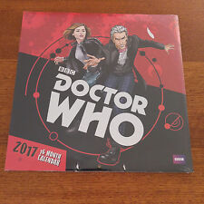 BBC Doctor Who 16 month 2017 Calender New