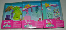 Lot Of 3~Barbie Club Chelsea Fashion Sets~Bath Bed Time~Ballerina~Rain Jacket