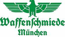 Waffenschmiede München Fahrzeug Aufkleber Grün Glanz WH Vehicle Sticker Eagle