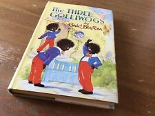 Enid Blyton book The Three Golliwogs 1968 hardback book with dust jacket