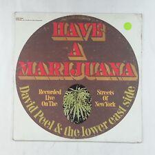 DAVID PEEL & LOWER EAST SIDE Have A Marijuana EKS74032 LP Vinyl VG+ Cover VG Mon