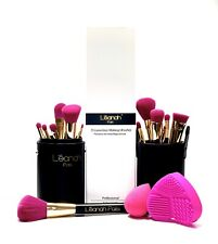 Léanah Pro 15 Makeup Brushes Set Face Blush Powder Foundation Blending Eyeshadow