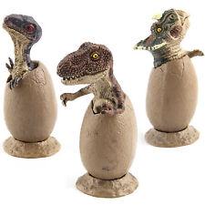 3 pcs Magic Dinosaur Eggs Hatching Dino Growing Cute Children Kids Toys Gift