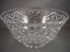 Art Deco Glass Bowl Cut Glass
