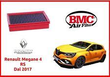 Filtro aria sportivo BMC auto per Renault Megane 4 iv RS 279 300 tuning lavabile