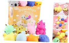12Pcs Big Squishies Toys, Upgrade Size Mochi Squishies Stress Reliever Toys for