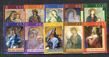 2002 Vaticano Michel n. 1394-1403 Fresco Posta