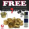 Cone Pieces  - Brass cone Piece - metal smoking pipe bong pipe Bonza Gromet