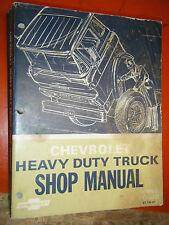 1967 CHEVROLET HEAVY DUTY TRUCK SERIES 70-80 FACTORY SHOP MANUAL SERVICE
