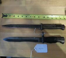 Vintage Bayonets knives German and other (lot#9326)