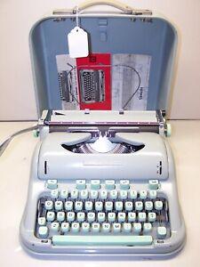 Antique 1966 Hermes Model 3000 Vintage Typewriter #3389173
