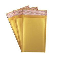 000 4 X 7 Kraft Bubble Mailers Self Seal Padded Shipping Envelopes Qty 50