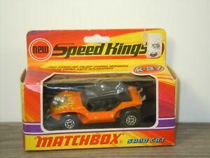 Sand Cat - Matchbox Speed Kings K-37 England in Box *53521