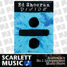 ED SHEERAN - Divide PVG Book Hal Leonard *NEW* Piano Vocal Guitar Music