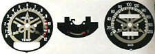 YAMAHA RD250LC RD350LC SPEEDOMETER + TACHOMETER FACE RESTORATION DECALS BLACK 4