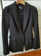 KOOKAI Black Fitted Tailored Lined Jacket Size 34