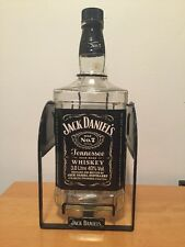 Jack Daniels 3 liter bottle swing empty rare whiskey old No 7 large