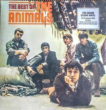 "THE ANIMALS BEST OF - 180 GRAM CLEAR VINYL LP "" NEW, SEALED "" 15 TRACKS"