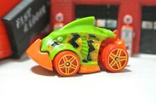 Hot Wheels Loose - Piranha Terror - Green & Orange - 1:64