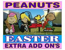 Peanuts outdoor Easter Add On decorations