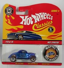 Hot Wheels 1:64 40th Anniversary with Button - Neet Streeter Brand new