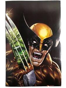 Marvel's Wolverine #1 Suayan Virgin Brown Variant VF/NM