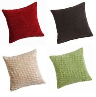 "CHENILLE SPOTS SOFT CUSHION/SOFA CUSHION COVERS,LARGE 22"" X 22"" SIZE GREAT VALUE"