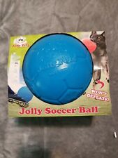 Jolly Soccer Ball , PartNo SB06 BLUE, by Jolly Pets, Size 6 IN, Color Ocean Blue