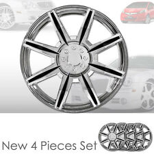 New 16 inch ABS Chrome Hubcaps Wheel Rim Covers Hubcaps Set 541 For Honda