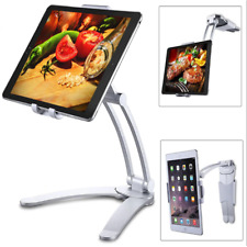 Foldable Phone Holder Tablet Stand Wall Kitchen Desk Mount Bracket Free Shipping