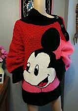 Vtg Michel Bachoz Colette Nivelle Paris Oversized Disney Mickey Mouse Sweater