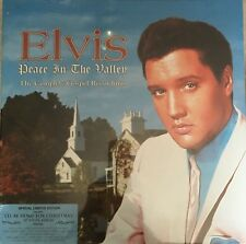 ELVIS PEACE IN THE VALLEY COMPL GOSPEL REC-I'LL BE HOME FOR CHRISTMAS BOX SEALED